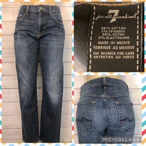 7 For All Mankind Carsen Jeans 33